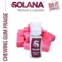 Chewing Gum Fraise 10ml Solana