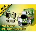 VAP FIP BASE 80PG/20VG 140ml +6NIKO KITS (NICO6mg/ml)