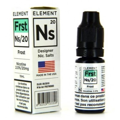 Element Frost 10ml / 20 mg Nic Salts by