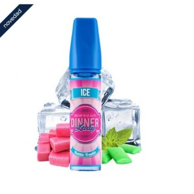 Dinner Lady  Ice Bubble Trouble    50ml 0mg +Nicokit