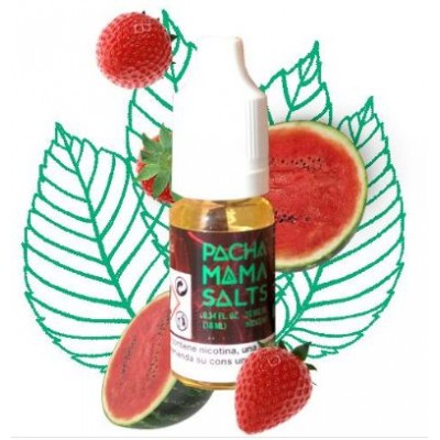 Pachamama Salts Strawberry Watermelon 20mg 10ml