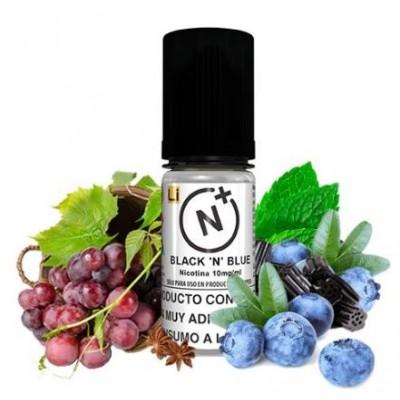 Nicotine Plus T-Juice Black N Blue 10ml