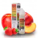 Fuji apple  strawberry  nectarine - Pachamama 50ml. 0mg +Nico Kit