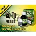 VAP FIP BASE 50/50 140ml + 6 NIKO KITS (NICO 6mg/ml)