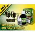 VAP FIP BASE 80PG/20VG 140ml +6NIKO KITS (NICO6mg/ml)