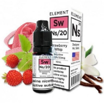 Element  STRAWBERRY WHIP SALT   10ml / Nic Salts by 20mg