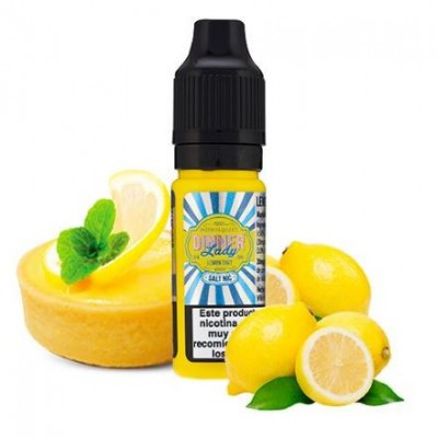 Dinner Lady Nic Salt Lemon Tart 20mg 10ml