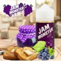 JAM MONSTER  GRAPE 100ML 0mg.