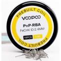 Resistencias Prebuilt 0.6 Ohm (10 Unidades) para RBA Vinci Pod by Voopoo