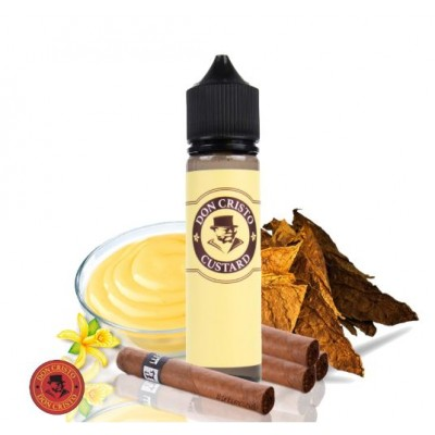 Don Cristo Custard  by Don Cristo 50ml  0mg +Nicokit