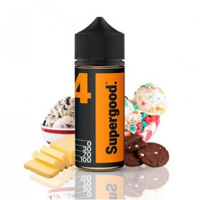 Butter 04 by Supergood 100ml 0mg +Nicokit