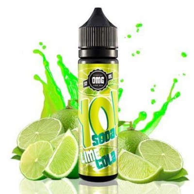 Yo Soda Lime Cola 50ml 0mg  +Nico kit