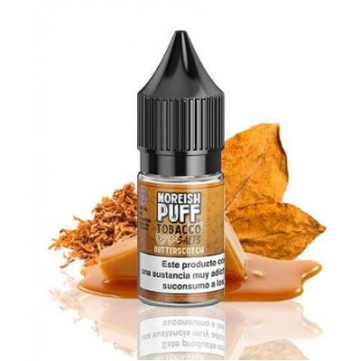 Tobacco Butterscotch By Moreish Puff Nic Salt 10ml  20mg