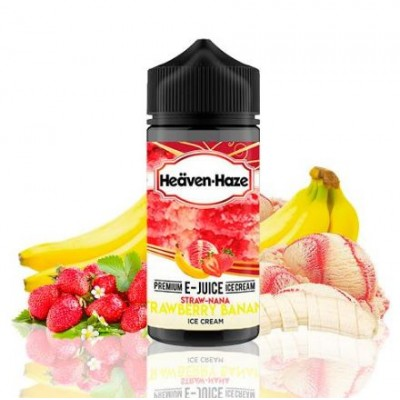 Straw Nana By Heaven Haze 100 ml 0mg