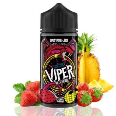 Strawberry Pineapple By Viper Fruity 100 ml 0mg