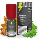 Golden Tobacco Mint By T-Juice Nic Salt 20mg 10ml